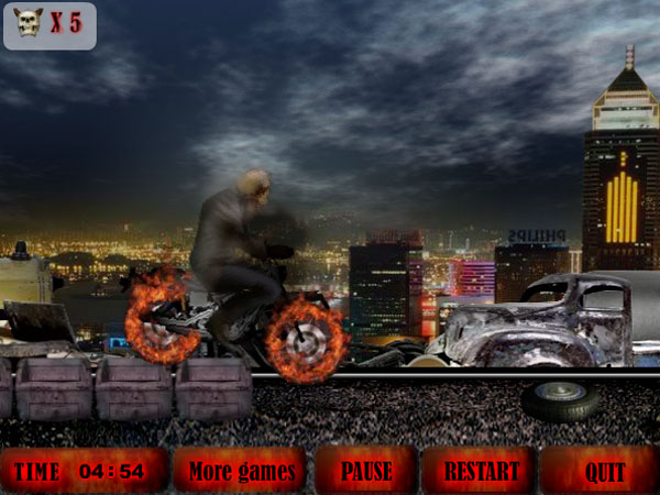 Click to view Burning Racer 1.0 screenshot