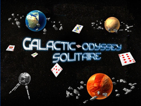 Cosmic Solitaire - Click for fullscreen